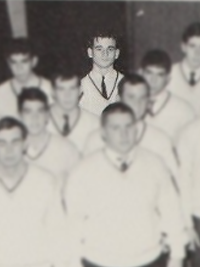 Bill Murray in the 1967 Loyola Academy yearbook