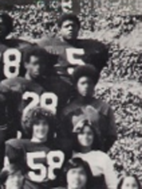 Forest Whitaker high school Science Fiction Club yearbook photo