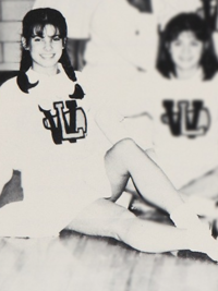 Sandra Bullock high school group photo