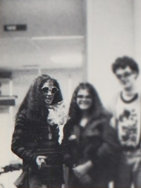Sandra Bullock high school spirit week yearbook photo