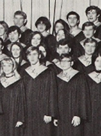 David Hasselhoff high school choir photo